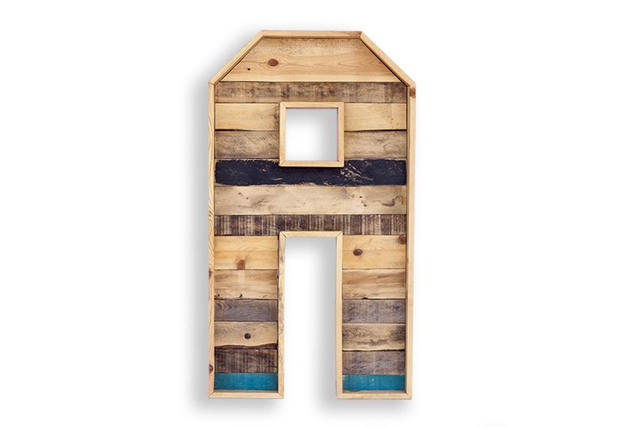 Letras decorativas de madera natural itepal - Letras de madera decorativas ...
