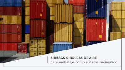 Airbags o bolsas de aire para embalaje como sistema neumático