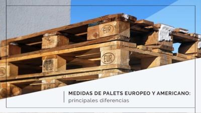 Medidas de palets europeo y americano: principales diferencias