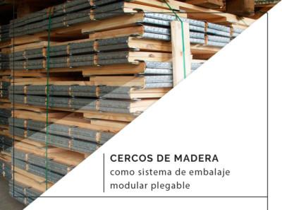 cercos de madera modulares plegables