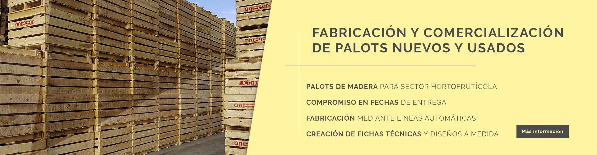 itepal fabrica de palets nuevos y usados