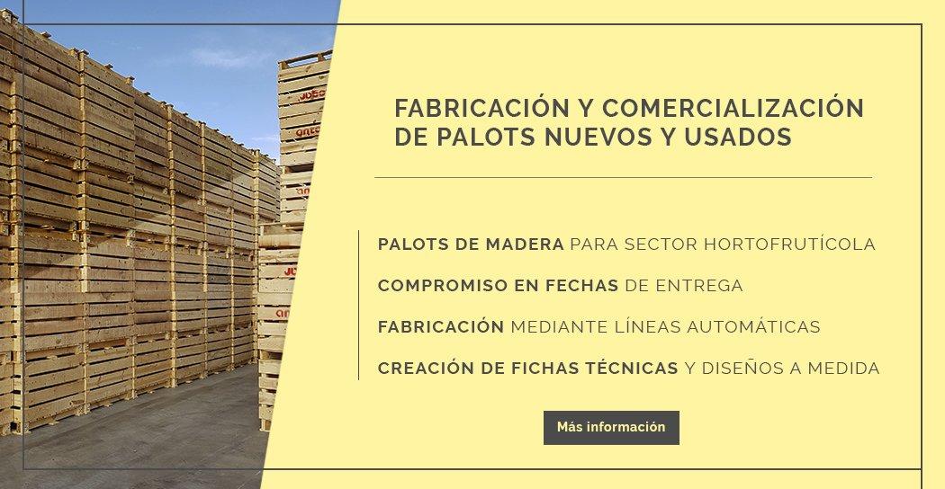 fabrica de palots nuevos y usados