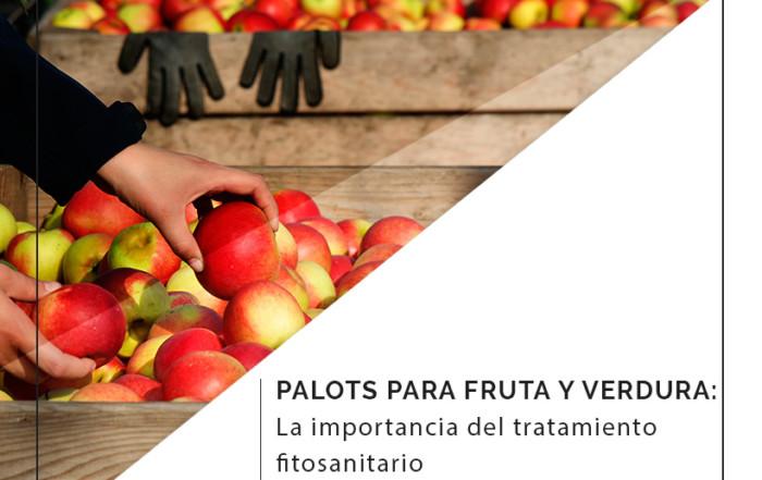 palots de cartón o de madera para frutas y verduras