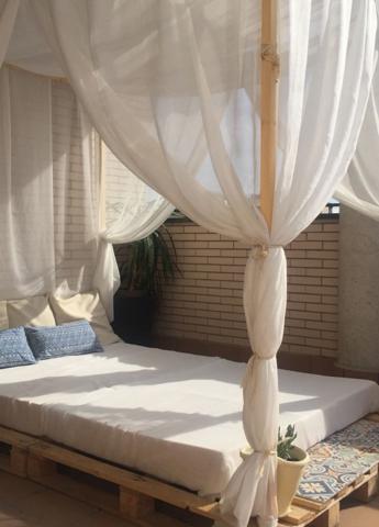 Cama de terraza Itepal