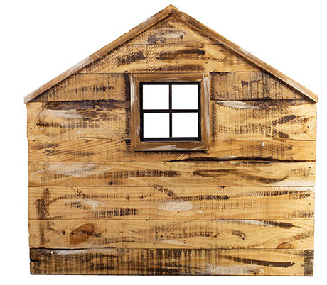 Cabecero infantil de madera de palets Hansel