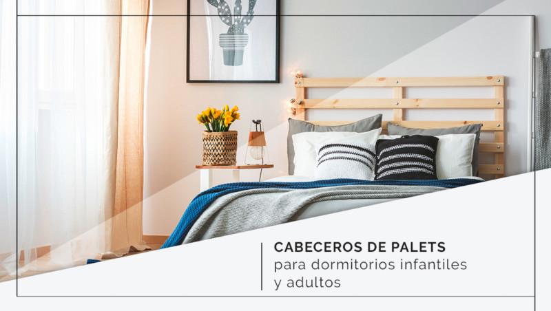 Nuevos cabeceros de palets para dormitorios infantiles y adultos