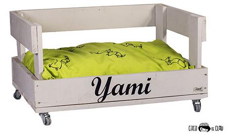 Idea de muebles hechos con palets: cama para mascotas
