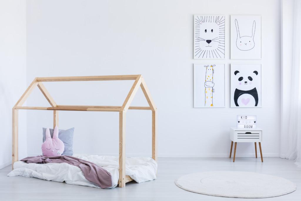 Muebles con palets infantiles