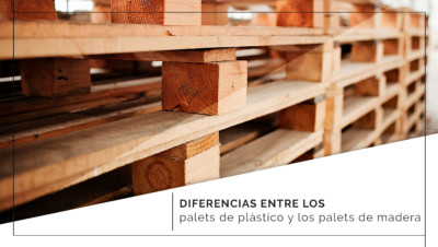 Diferencias entre los palets de plástico y los palets de madera
