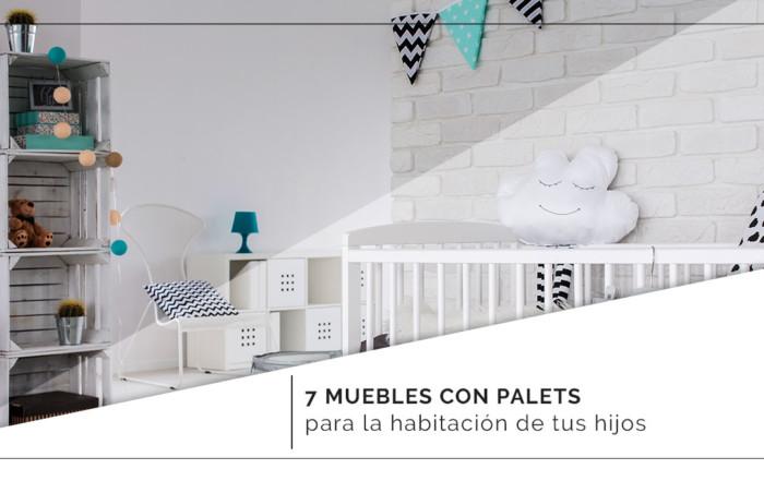 7 muebles con palets para la habitación de tus hijos