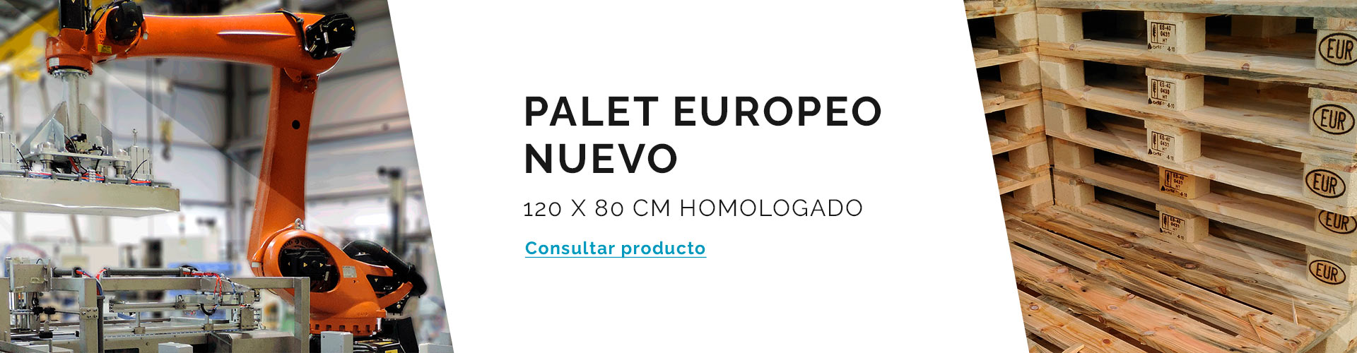 Palet Europeo Nuevo